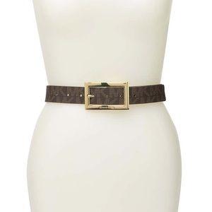 Michael Kors Logo Reversible Belt